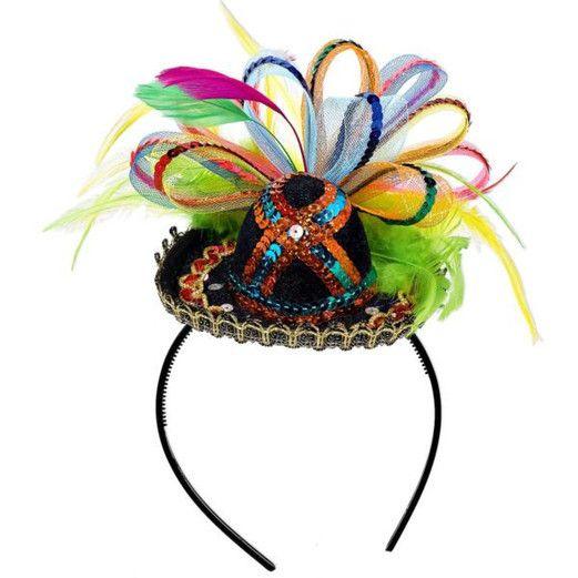 Cinco de Mayo Party Wear Fancy Sombrero Headband Image