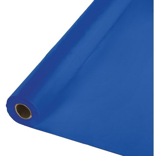 4th of July Table Accessories 100' Royal Blue Table Roll Image