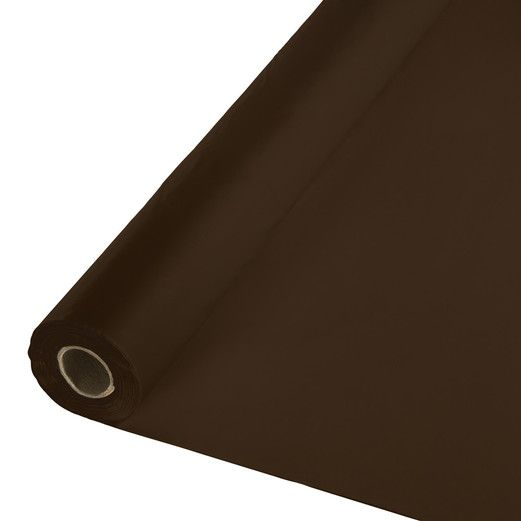 Chocolate Brown Table Roll Image