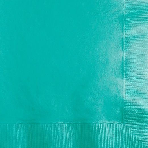Table Accessories Teal Beverage Napkins Image