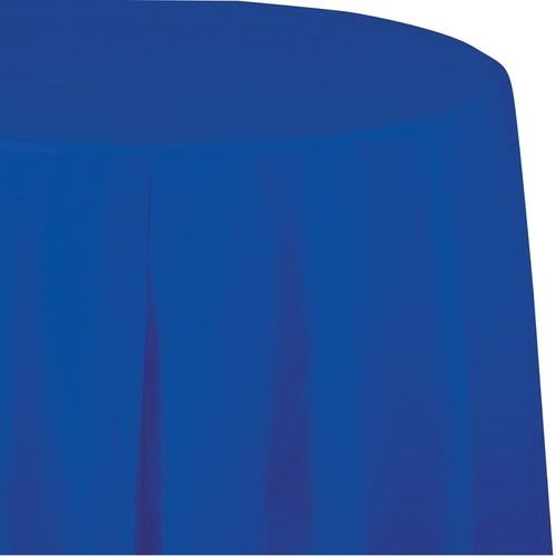 Round Table Cover Royal Blue
