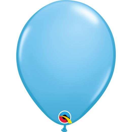 "Baby Shower Balloons 11"" Light Blue Qualatex Balloons Image"
