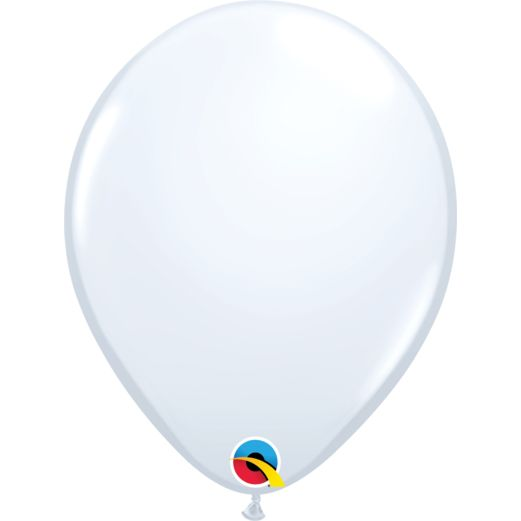 "Wedding Balloons 11"" White Qualatex Balloons Image"