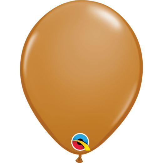 "5"" Mocha Brown Balloons"