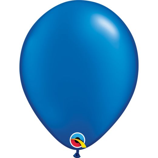 "4th of July Balloons 11"" Pearl Sapphire Blue Balloons Image"