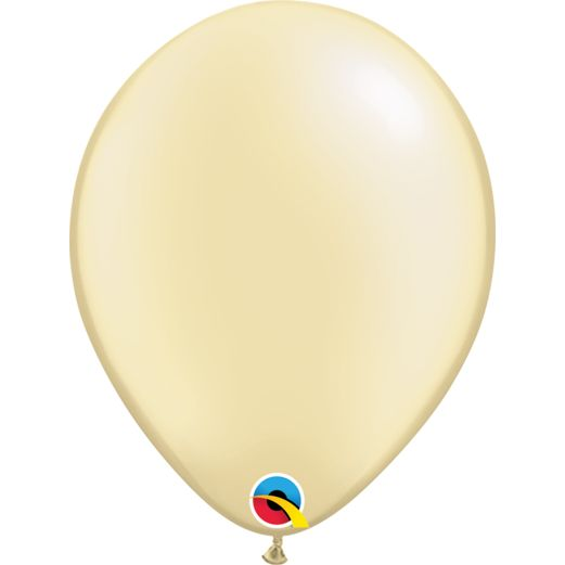 "Wedding Balloons 11"" Pearl Ivory Balloons Image"