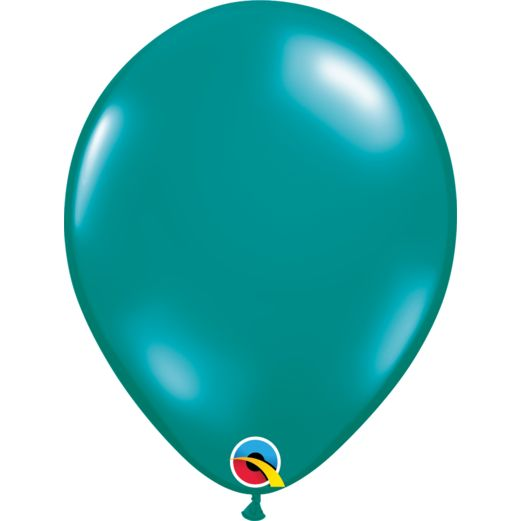 Luau Balloons 11 Teal Qualatex Image