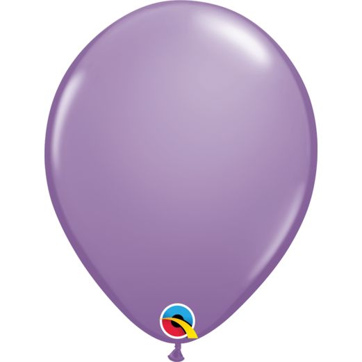 "Baby Shower Balloons 11"" Qualatex Lilac Balloons Image"