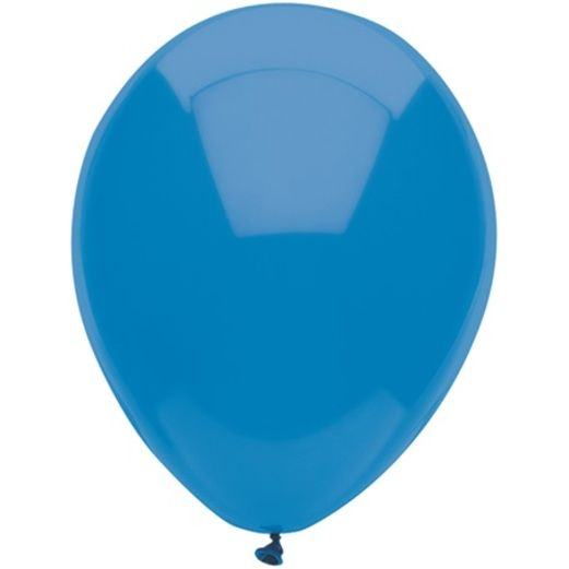 "4th of July Balloons 11"" Bright Blue Balloons Image"