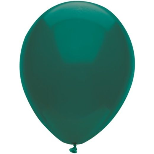"Balloons 11"" Deep Turquoise Balloons Image"