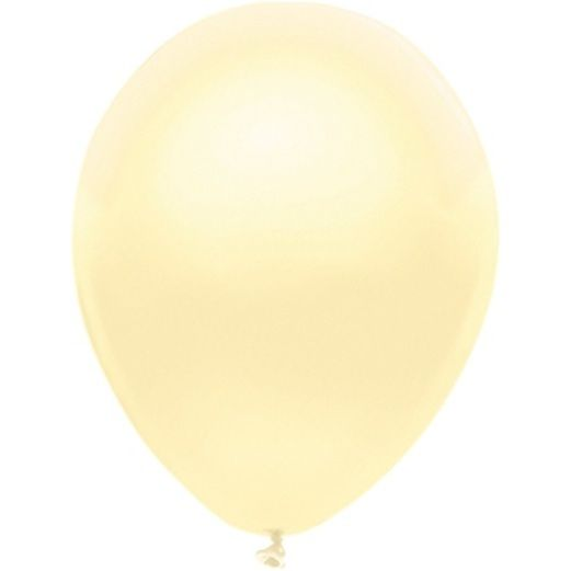 "Wedding Balloons 11"" Silk Ivory Value Balloons Image"