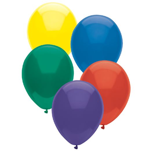 "Birthday Party Balloons 11"" Royal Rich Balloons (100/pkg.) Image"