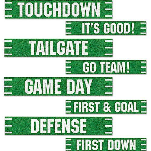 Football Street Sign Cutouts