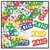 New Years Decorations 2019 Metallic Confetti Image