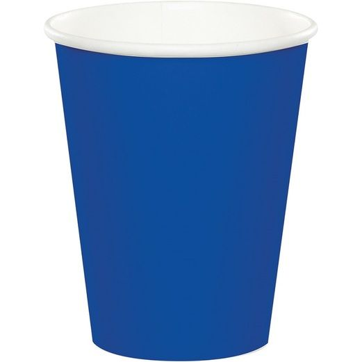 Table Accessories Royal Blue Cups Image