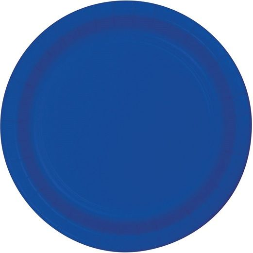 4th of July Table Accessories Royal Blue Dessert Plates Image