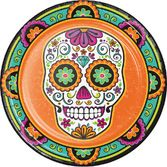 Day of the Dead Table Accessories Dia De Los Muertos Festival Dinner Plates Image