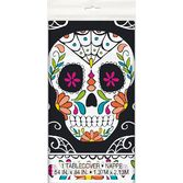 Day of the Dead Table Accessories Skull Day of the Dead Plastic Tablecover Image