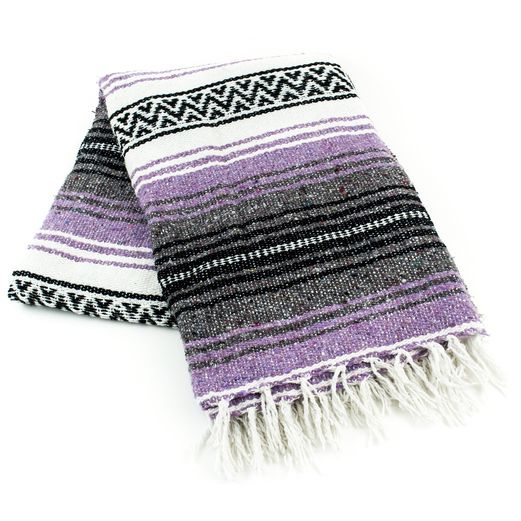 Cinco de Mayo Decorations Lilac Mexican Blanket Image