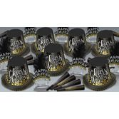 New Years Party Kits Silver and Gold Cheers to the New Year for 50 Image