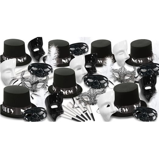 New Years Party Kits New Year Masquerade for 50 Image