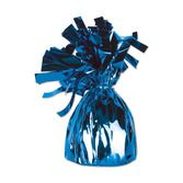 4th of July Balloons Blue Metallic Balloon Weight Image