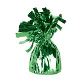 St. Patrick's Day Balloons Green Metallic Balloon Weight Image