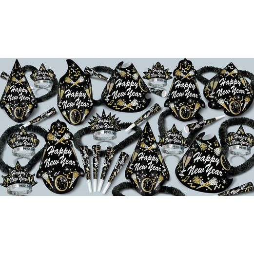 New Years Party Kits New Year Tymes for 50 Image