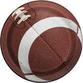 "Sports Table Accessories Football Party 7"" Plates Image"