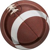 "Sports Table Accessories Football Party 9"" Plates Image"