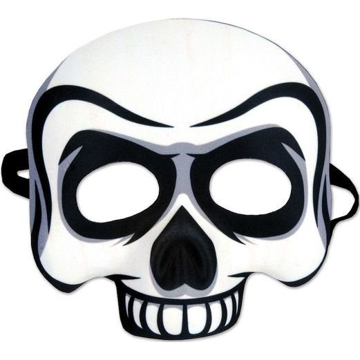 Halloween Party Wear Skull Half Mask Image