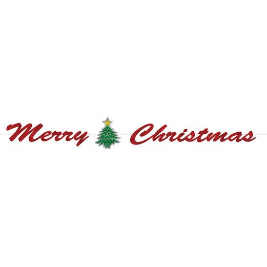 Christmas Decorations Merry Christmas Streamer Image