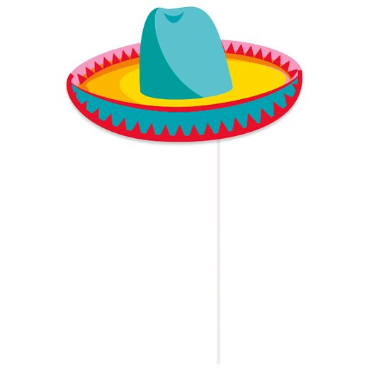Fiesta Decorations Mexican Fiesta Photo Props Image