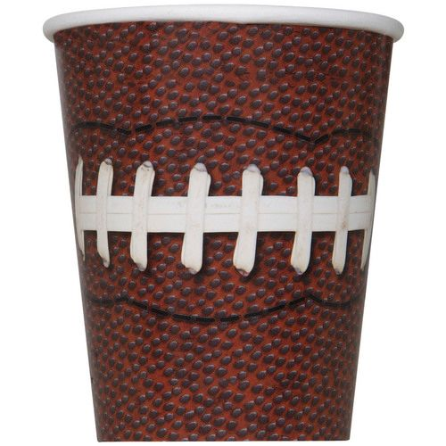 Football Party 9oz Cups