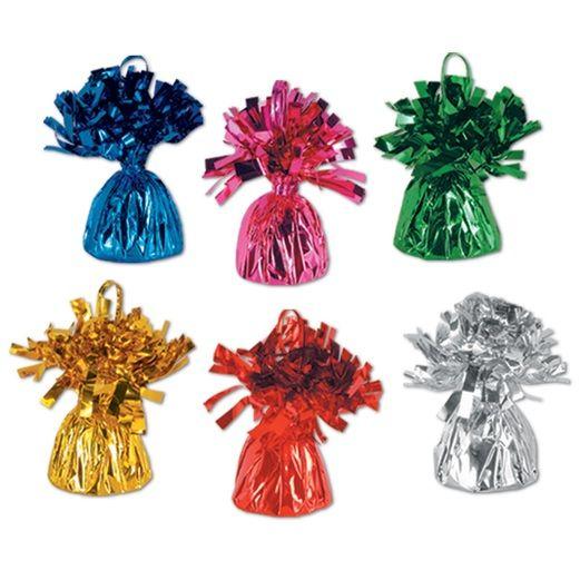 Assorted Color Metallic Balloon Weights
