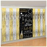 New Years Decorations New Year's Fringe Backdrop Image