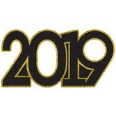 New Years Decorations Giant 2019 Photo Prop Image