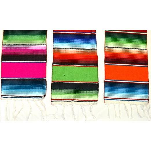 Cinco de Mayo Table Accessories Woven Fiesta Serape Table Runner Image