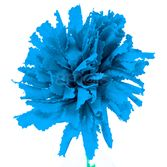 Day of the Dead Decorations Turquoise Marigold Flower Image