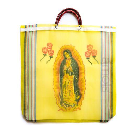 Virgen de Guadalupe Mesh Bag