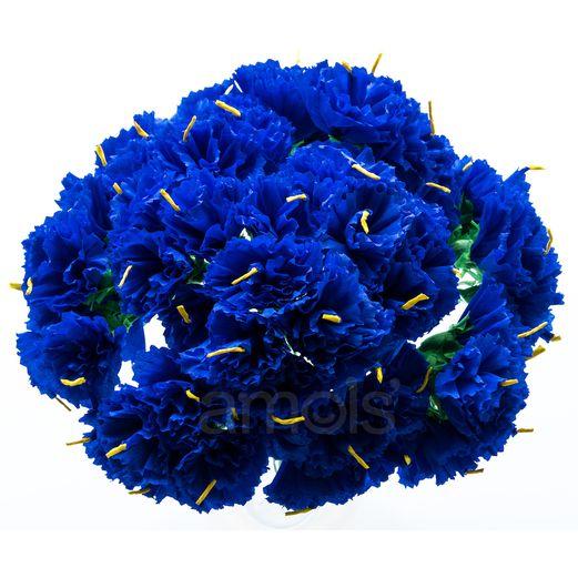Royal Blue Carnations