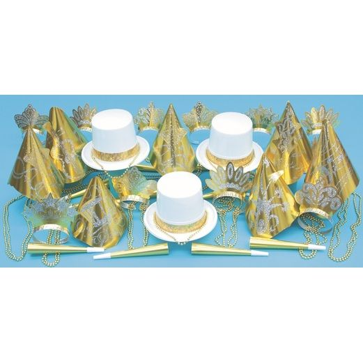 New Years Party Kits Gold Nugget for 50 Image