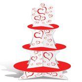 Valentine's Day Decorations Valentine Cupcake Stand Image