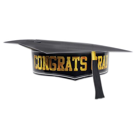 Graduation Hats & Headwear Printed Paper Graduation Cap Image
