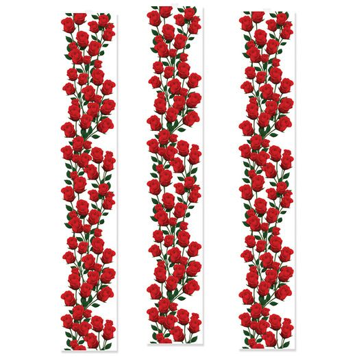 Valentine's Day Decorations Roses Party Panels Image