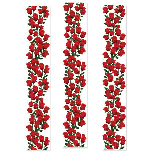 Roses Party Panels
