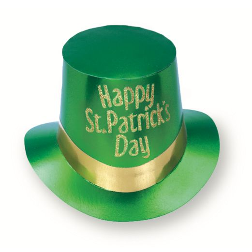 St. Patrick's Day Hats & Headwear St. Patrick's Top Hat Image