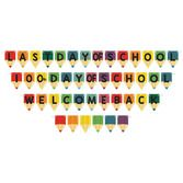 Back to School Decorations School Days Streamer Set Image
