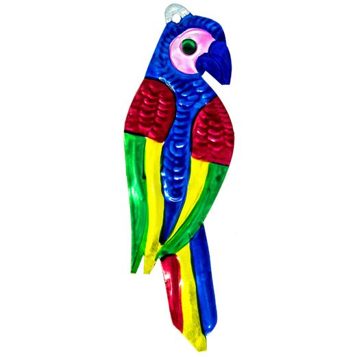 Decorations Conure Parrot Tin Ornament Image