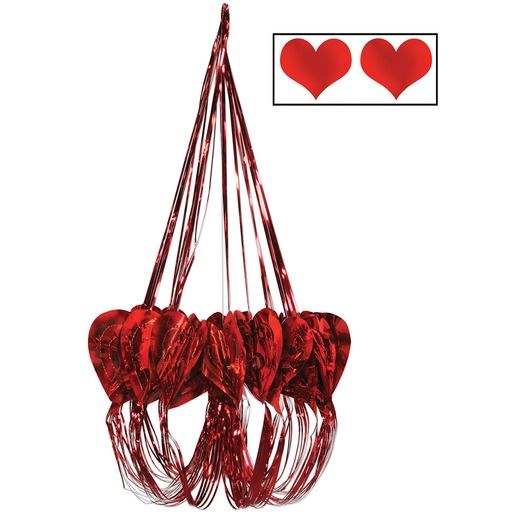 Valentine's Day Decorations Heart Chandelier Image